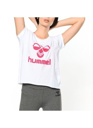 Hummel Bayan Tişört Callia 910360-9001 Beyaz